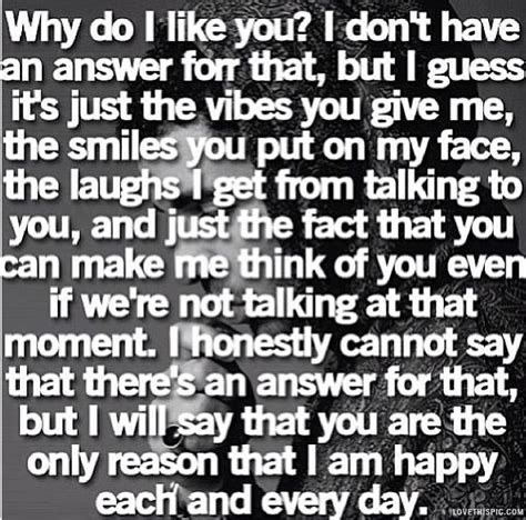 why do like why i like you quotes quotesgram
