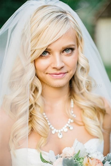 wedding hairstyles with veil wedding hairstyles for medium length hair with veil