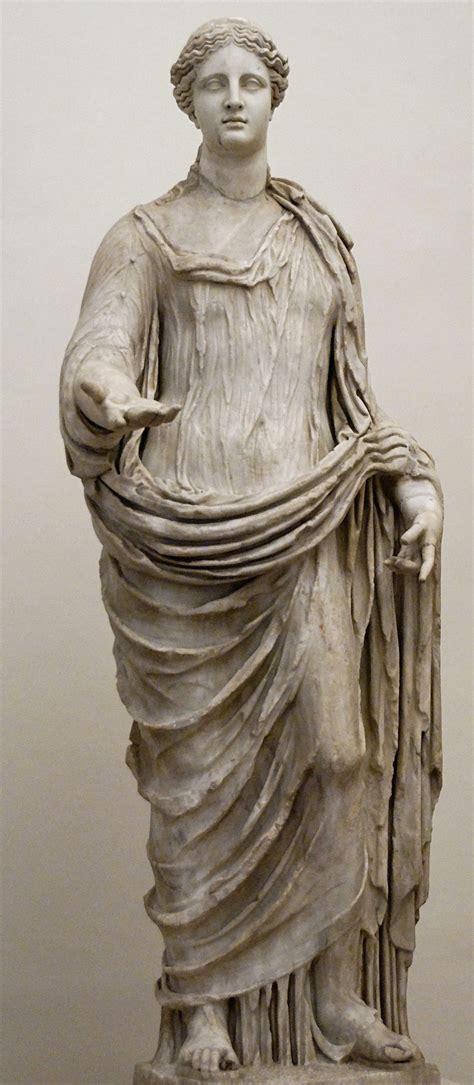 demeter greek goddess statue demeter wikipedia