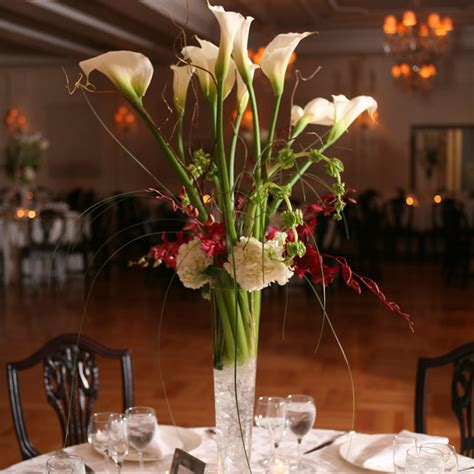 wedding centerpieces with calla lilies calla wedding centerpiece with crystalswedwebtalks wedwebtalks