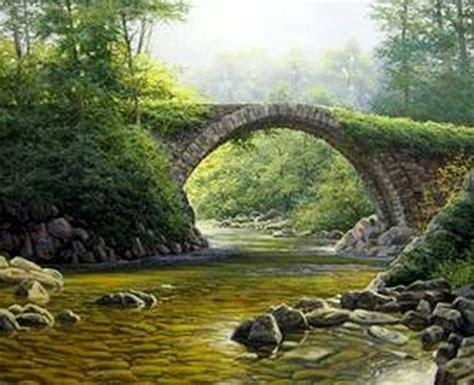 imagenes de paisajes oleo im 225 genes arte pinturas paisajes en arte al 243 leo