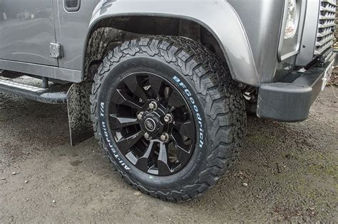 land rover defender alloy wheels defender black 18 sawtooth style alloy wheels set of 4