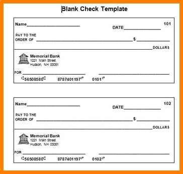 10 Editable Blank Check Template Dragon Fire Defense Editable Blank Check Template