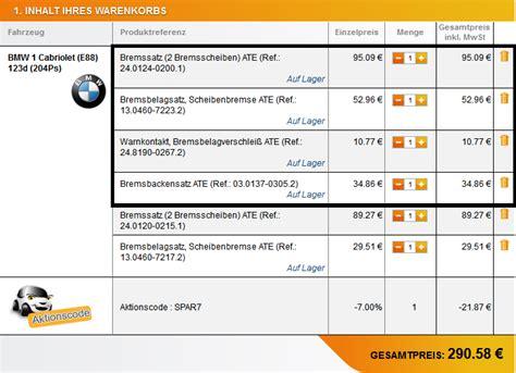 1er Bmw Bremsen Wechseln Preis by E88 Bremsenservice Vorne Bmw 1er 2er Forum Community