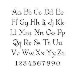 lettering template stencils alphabet stencils simple script lettering