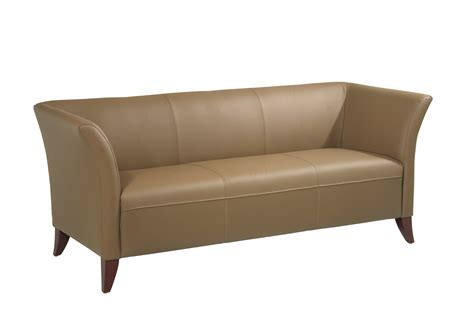 leather sofa for office office star office star leather sofa by oj commerce 725