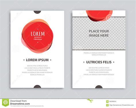 creative flyer design vector creative brochure templates stock vector image 58299554