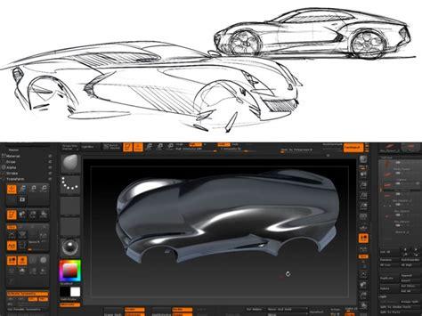 zbrush tutorial car zbrush topology brush block in tutorial car body design