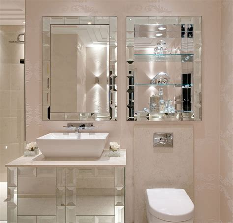 Mirrored Bathroom Wall Bathroom Wall Mirror Styles For Sophisticated Room Home Design