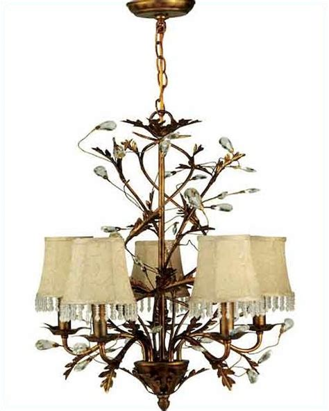 ls plus crystal chandeliers lite source 5 lites chandelier wrought iron w prism