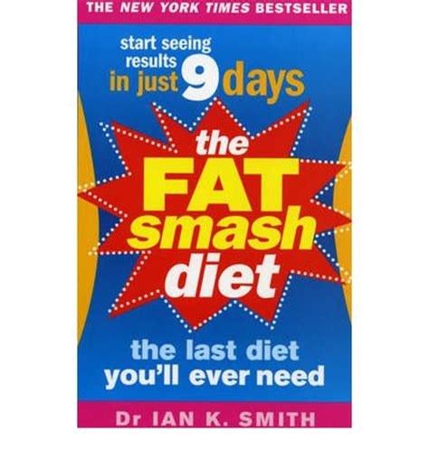 Smash Diet Detox Phase by Dr Ians Smash Diet