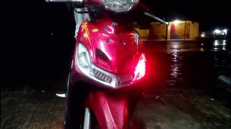 Lu Led Motor Mio Sporty modifikasi lu mio sporty modifikasi motor kawasaki
