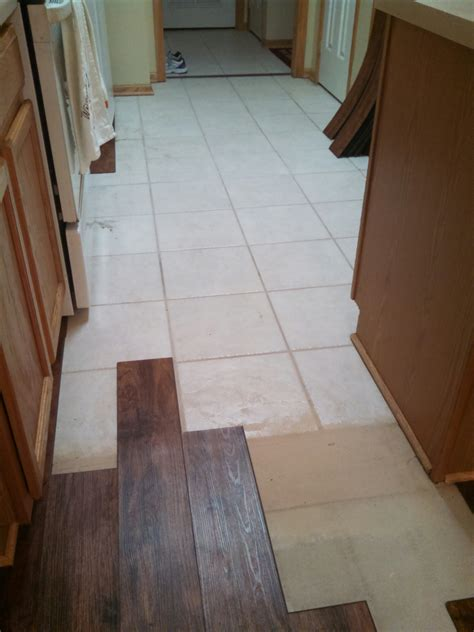 can you lay wood floor over tiles thefloors co
