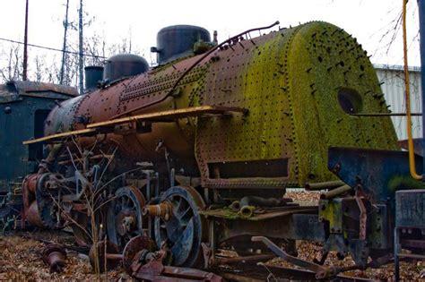 trains in america 20 eerie graveyards abandoned locomotive cemeteries ghosts media