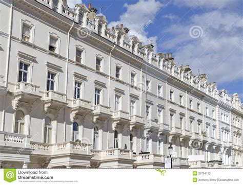 Victorian House Plans Free georgian stucco front houses in london stock photography