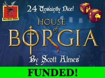 house of borgia kickstarters of the week 3 14 board game quest