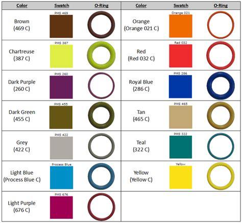 color o captain o ring llc o rings custom o rings color o rings