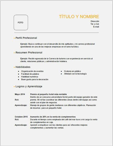 Modelo Curriculum Vitae Para Rellenar E Imprimir curriculum para imprimir curriculum curriculum para