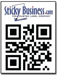 printable stickers for qr codes qr code labels and stickers