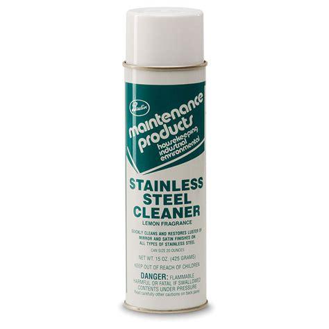stainless steel cleaner aerosol bhc
