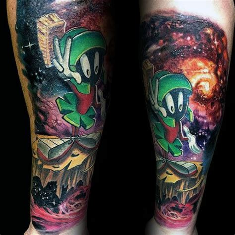 marvin the martian tattoo 40 marvin the martian designs for ink