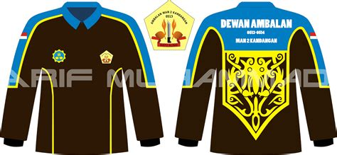 desain baju pramuka arif muhammad 2015