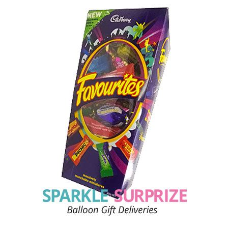 cadbury favourites 174 300g a chocolate gift to add to a