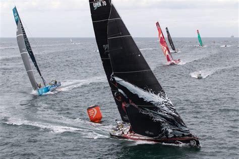 volvo race крупнейшая парусная гонка парусники яхты
