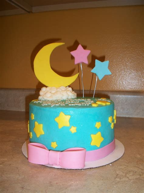 Unisex Baby Shower Cake by Unisex Baby Shower Cake Cakecentral