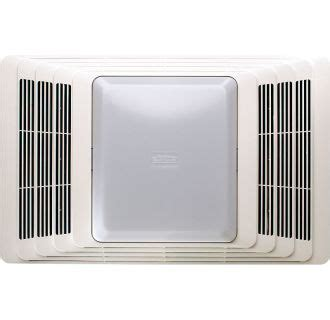 Broan Cfm Ceiling Exhaust Bath Fan With Heater The Home Depot Lights And Ls Broan 659 White 50 Cfm 2 5 Sone Ceiling Mounted Hvi Certified Bath Fan With Heater And Light