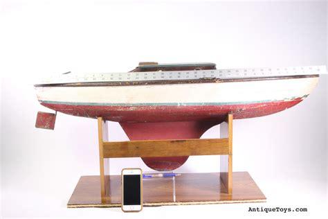 toy boat pond aj pond yacht friendship schooner for sale sold antique