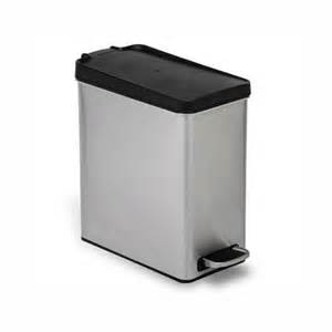 Small Metal Trash Cans With Lids White Metal Kitchen Trash Cans