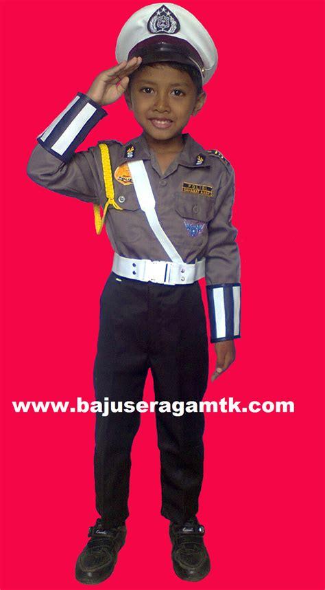 Seragam Polisi Anak Tk baju profesi anak murah di www bajuseragamtk