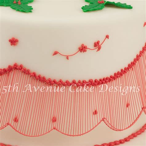 String Work - elevate your cakes with australian bridgeless
