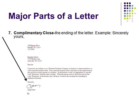 Closing Letter Yours Faithfully Business Letters A How To Ppt