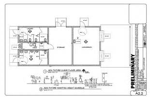 public bathroom floor plan ada bathroom plans home design