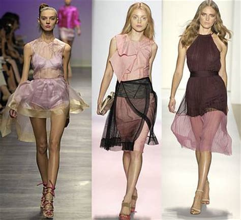 Summer 08 Trends Sheer Fabrics by How To Wear Sheer Fabrics Summer Fashion Trends 2016