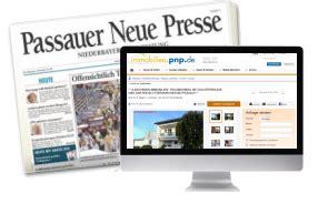 passauer neue presse wohnungen anzeigen aufgeben passauer neue presse