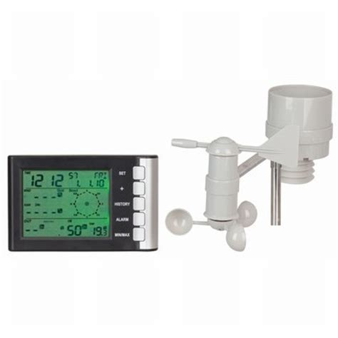 mini lcd display weather station with wind