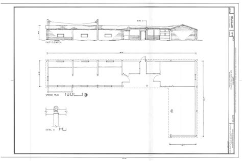 Show Steer Barns East Elevation Plan San Jacinto Ranch Calving Barn