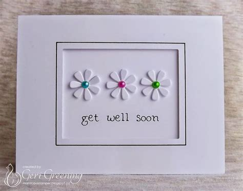 Get Well Soon Handmade Cards - best 25 get well cards ideas on diy handmade
