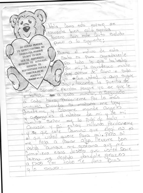 Response Letter To God A Special Letter To God Gordon And Mackenzie Missionaries To Honduras