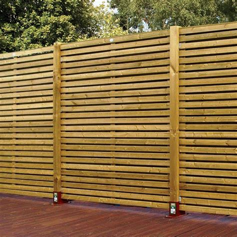 fence panels horizontal fence panels for privacy and protection homestylediary