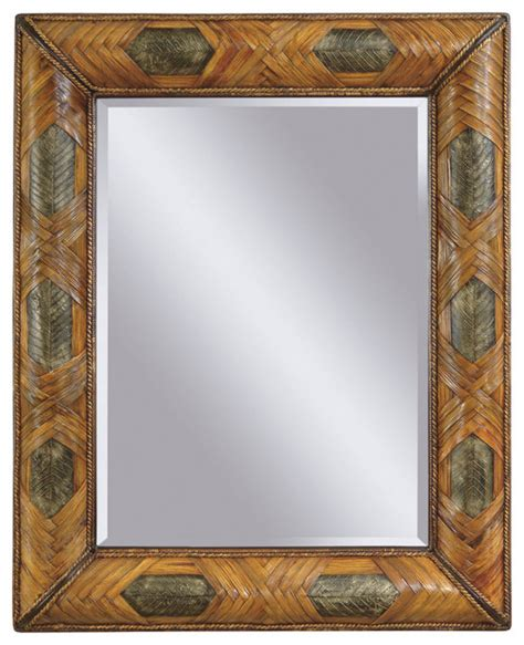 tropical bathroom mirrors banana leaf wall mirror tropical mirrors by carolina