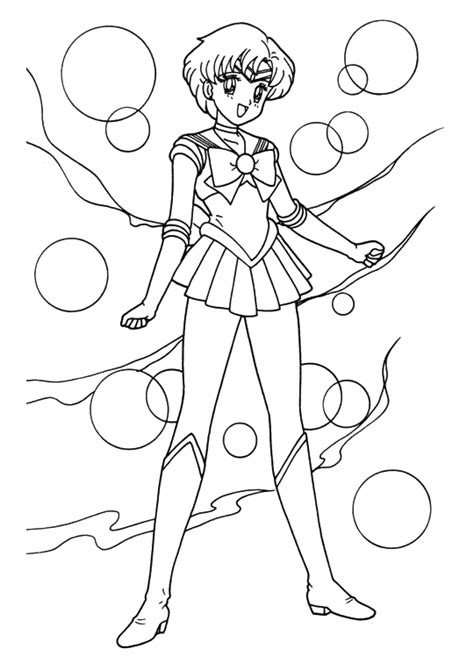 sailor moon coloring book coloring pages