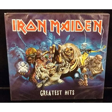 Cd Iron Maiden The Book Of Soul 2cd Original greatest hits limited 233 dition 2cd digipack emi 2015 russie by iron maiden cd x 2 with
