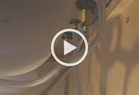install moen kitchen faucet how to install a single handle kitchen faucet at the home