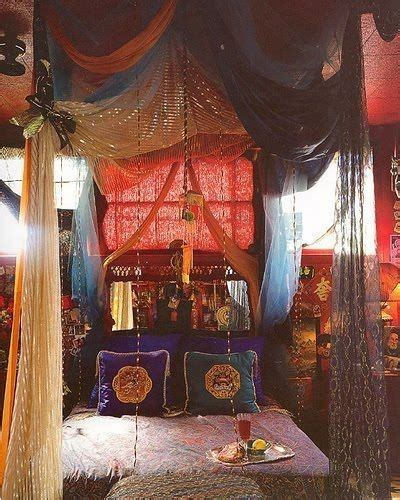 Boho Canopy Bedroom Drowning In A Boho Canopy Bed The House Of Boho