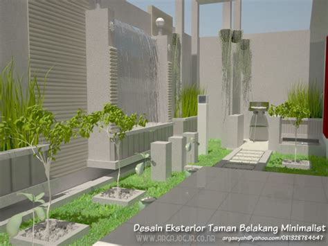 desain eksterior taman belakang desain eksterior taman belakang minimalist part 2