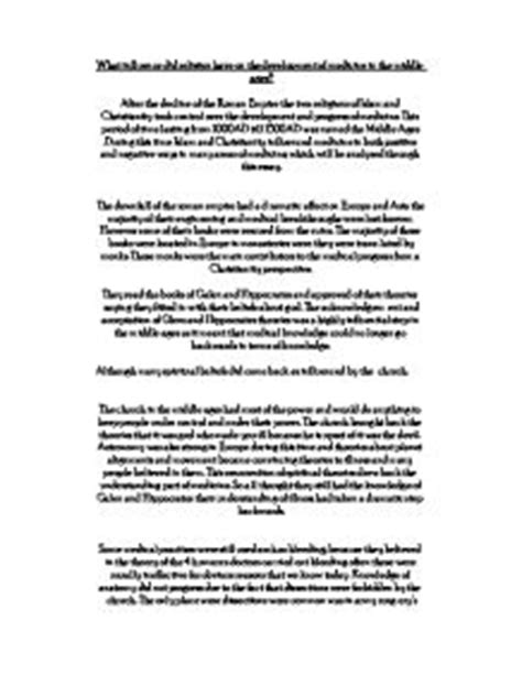 Middle Ages Essay by Religion In The Middle Ages Essay Writefiction581 Web Fc2